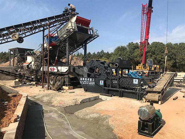 安徽宣城洗砂回收一体机现场